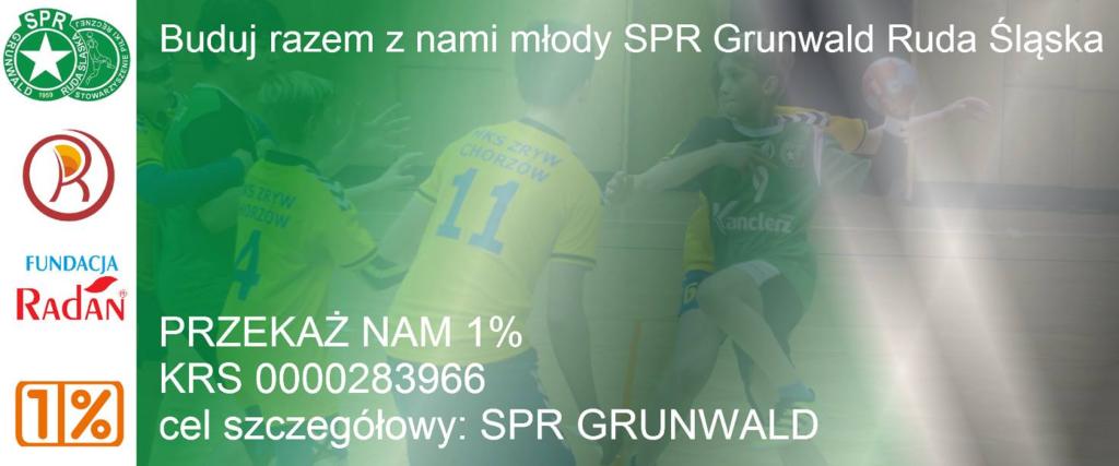 Przekaż 1% na SPR Grunwald